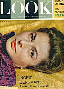 Look Magazine - INGRID BERGMAN - March 14, 1961 (Image1)