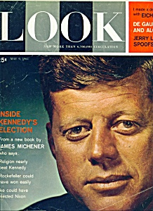 Look Magazine - JOHN KENNEDY - May 9, 1961 (Image1)