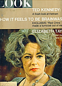 Look Magazine - Elizabeth Taylor - Feb. 8, 1966