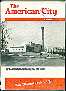 The American City Magazine - February 1954 (Image1)
