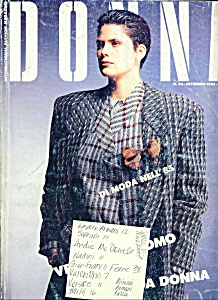 DONNA Magazine (Italian)  September 1984 (Image1)