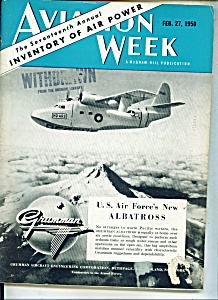 Aviation Week Magazine Feb. 27, 1950