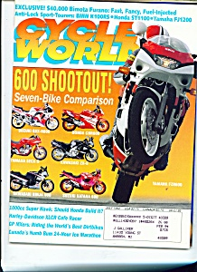 Cycle World Magazine - July 1992