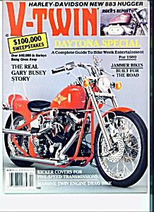 V-Twin Magazine - April 1989  Daytona Special (Image1)