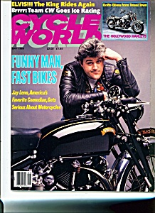 Cycle World Magazine Jay Leno - May 1989