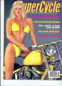 Super Cycle Magazine - August 1991