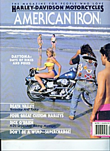 American Iron Magazine -  May 1989 (Image1)