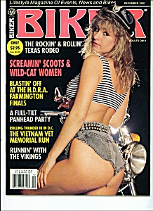 Biker Magazine - December 1990 - Adults Only