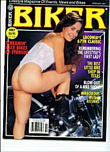 Biker Magazine -  February  1991 ADULTS ONLY (Image1)