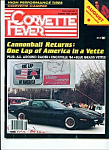 Corvette Fever Magazine -  August 1984 (Image1)