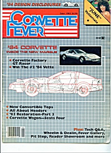 Corvette Fever magazine -  June 1983 (Image1)