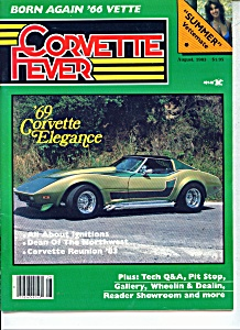 Corvette Fever magazine -  August 1983 (Image1)