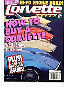 Corvette Fever magazine -  September 1992 (Image1)