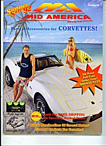 Corvette Catalog summer sale   1992 (Image1)