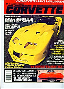 Corvette price guide  1984 (Image1)