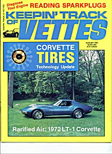 Keeping track of Vettes magazine -  August 1987 (Image1)