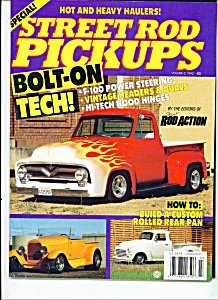 Street Rod Pickups magazine - 1992 Volume 3 (Image1)