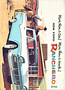 1957 Ford Ranchero Trucks Brochure