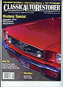 Classic Auto Restorer Magazine -  June 1989 (Image1)