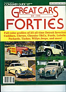 Great Cars of the forties magazine  = August 1985 (Image1)