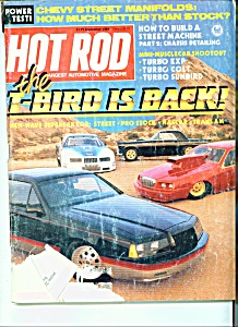 Hot Rod Magazine -  September 1984 (Image1)