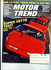 Motor Trend magazine -  April 1990 (Image1)