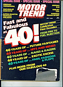 Motor Trend Magazine - May 1989 (Image1)