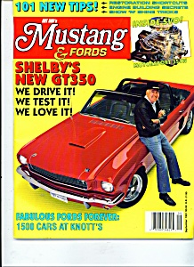 Hot Rod's Mustang & Ford magazine -  Sept. 1991 (Image1)