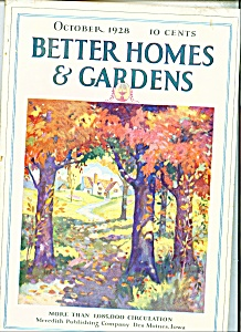 Better Homes & Gardens October 1928