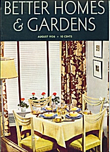 Better Homes & Gardens Magazine- November 1936