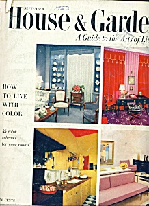 House & Garden magazine - September 1953 (Image1)