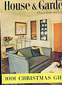 House & Garden magazine - November  1953 (Image1)