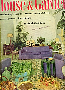 House & Garden Magazine- August 1961 (Image1)