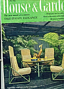 House & Garden Magazine - June 1961 (Image1)