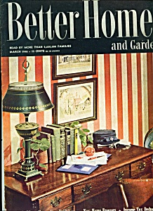 Better Homes & Gardens Magazine -   March 1946 (Image1)