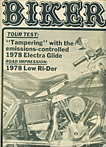Biker - Motorcycle News Magazine - July 26, 1978