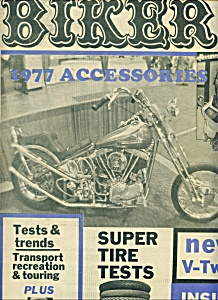BIKER - Motorcycle Magazine newspaper - Feb. 9, 1977 (Image1)
