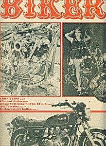 BIKER - Motorcycle magazine newspaper - Jan. 26, 1977 (Image1)