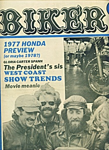 BIKER - Motorcycle magazine newspaper - Dec. 15, 1976 (Image1)