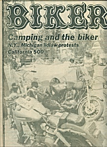 BIKER - Motorcycle magazine newspaper -  June 14, 1978 (Image1)