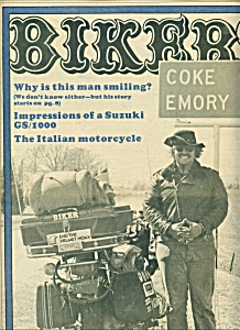 BIKER - Motorcycle Magazine newspaper -  March 22, 1978 (Image1)