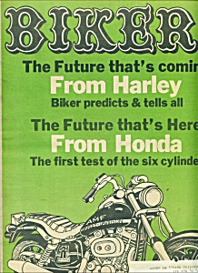 BIKER -  Motorcycle Magazine newspaper - Jan. 25, 1978 (Image1)