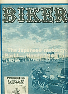 BIKERS -  Motorcycle magazine newspaper -  May 3, 1978 (Image1)