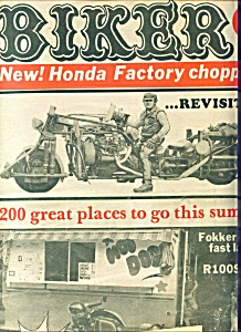 Bikers - Motorcycle Magazine Newspaper - August 24, 197