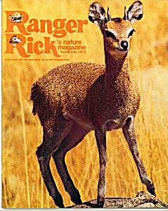 Ranger Rick's Nature Magazine- November 1973