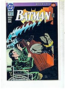 Batman comic -  # 499- September 1993 (Image1)