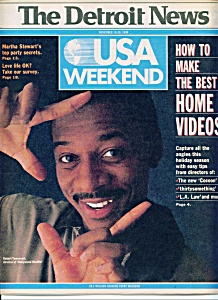 Usa Weekend - The Detroit News - 11-18-1988