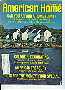 American Home Magazine - February 1970 (Image1)
