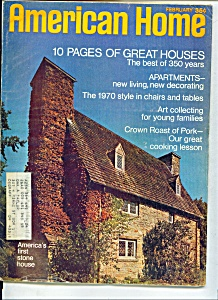 American Home magazine- February 1970 (Image1)