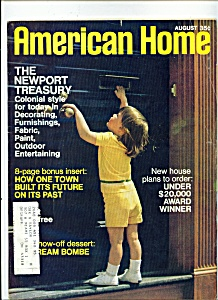 American Home Magazine August 1970
